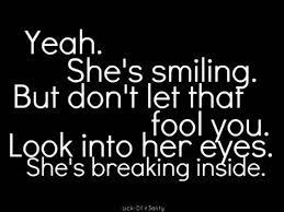 breaking inside
